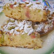 ciasto drożdżowe z agrestem-suche drożdże...