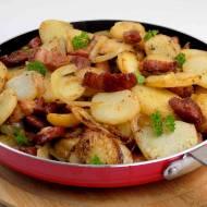 Kraszanka ziemniaki z patelni