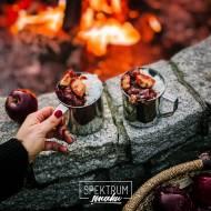 Waniliowy ryż z prażonymi jabłkami