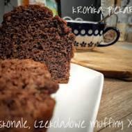 Doskonałe, czekoladowe muffiny XXL