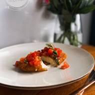 Kotlety z Burraty z pomidorkami