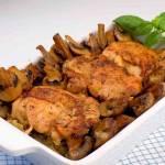 Luzowane udka kurczaka z piekarnika