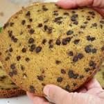 CIASTO WANILIOWE Z KAWAŁKAMI CZEKOLADY jako baza do tortów i ciast.