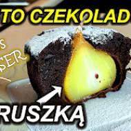 Ciasto czekoladowe z gruszkami - Prosty przepis - Szykie ciasto
