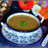 Zupa krem z grzybów leśnych
