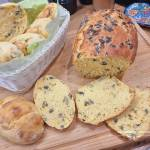 Bułeczki i chlebek dyniowy - pychotka
