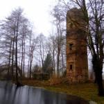Ruiny zamku w Wyszynie woj. wielkopolskie
