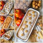 Ciasto z jabłkami i orzechami. Ciasto wiewiórka