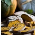 Dyniowa ciabatta z pestkami dyni – drożdżowe pieczywo