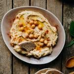 Hummus z gotowanej ciecierzycy