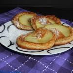 Razowe placki z jabłkami