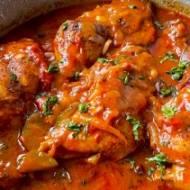 Kurczak w sosie myśliwskim