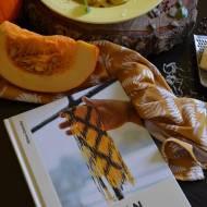 Pappardelle z kremowym dyniowym sosem oraz kilka słów o książce
