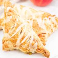 Ciasto francuskie z jabłkami