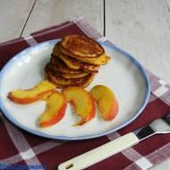 Placuszki z mango i masłem orzechowym