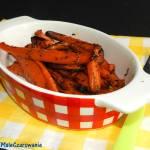 Pieczone marchewki z tymiankiem