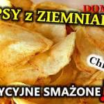Przepis na chipsy z ziemniaków