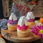 Halloweenowe babeczki duszki