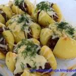 Ziemniaki z mięsem mielonym zapiekane w piekarniku