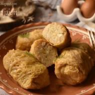 Gołąbki z jajem – kuchnia podkarpacka